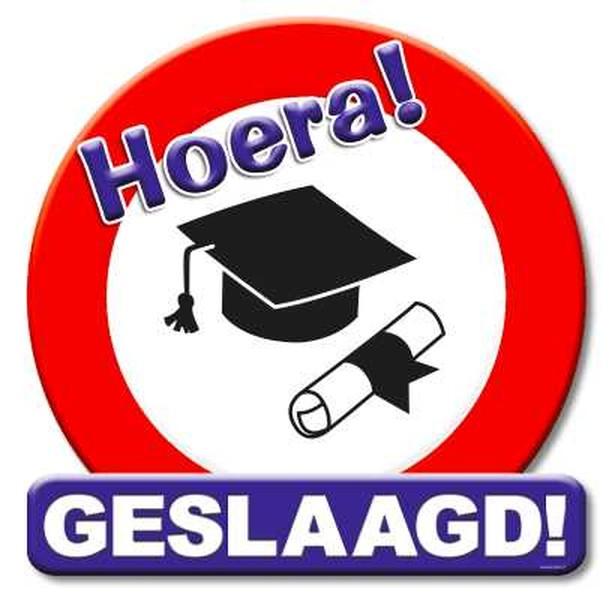 Team Verkeersschool De Ridder feliciteert iedereen die is geslaagd voor zijn schoolexamens!!